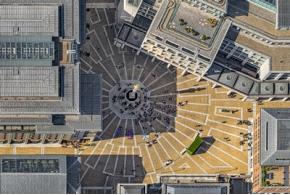 Геометрия Лондона на аэроснимках Бернхарда Ланга