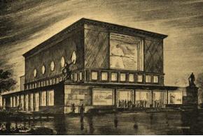 Я. А. Корнфельд. Архитектура советского городского кино. 1936
