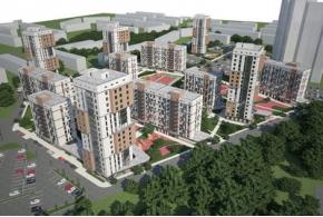 Конкурсные проекты ЖК «Покровский» в Ижевске: проект под девизом 739562