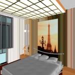 Дизайн проект спальни.  Ижевск