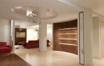 Квартира в современном минималистическом стиле. Холл.