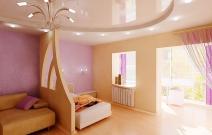 Квартира в современном минималистическом стиле. Девичья комната.