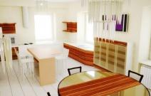Дом 400 кв.м. Кухня-столовая.
