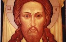 Икона Спас Нерукотворный, размер: 34x45 см. Липа, масло.