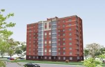 Многоквартирный 9-этажный жилой дом по ул. Пехтина в г. Глазове, УР