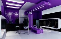 Дизайн бутика «Зеркало». Ижевск