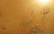 Декоративно-художественная роспись стен в коттедже