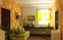 Дизайн интерьеров загородного дома. Детская. Ижевск