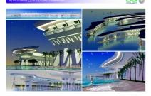Архитектурная студия «ДГ ПРОЕКТ». Предпроектное предложение по архитектурному комплексу «Портрет шейха» на искусственных насыпных островах. Дубай, ОАЭ, искусственный архипелаг The World