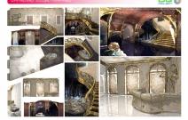 Архитектурная студия «ДГ ПРОЕКТ». Проект «Ресторанно-галерейного комплекса художника Даши Намдакова». Москва, ул. Мясницкая, 7