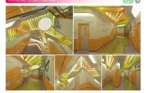 Архитектурная студия «ДГ ПРОЕКТ». Проект входной группы детского развивающего центра. Город Железнодорожный