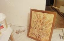 Объект № 3. Эскиз и подготовленная стена для 3D росписи.