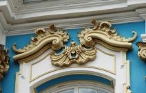 Реставрация сандрика. С.-Петербург. Екатерининский дворец.