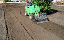 Подготовка почвы с помощью своей техники