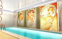 Дом 400 кв.м. 2 вариант бассейна.