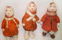 Ёлочная игрушка — куклёныши.