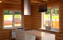 Дизайн коттеджа, кухня. Ижевск