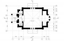 Архитектурное бюро MADE GROUP. Храм Святого Великомученика и Победоносца Георгия. План 2-го этажа
