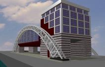Речной вокзал «Пристань Ижевск». Архитектор Денис Зайцев
