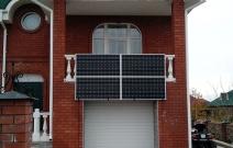 Солнечная электростанция 4 кВт. Частный жилой дом