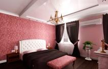 Спальня в классическом стиле.
