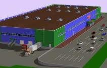 Проект торгового центра Эссен в Сарапуле